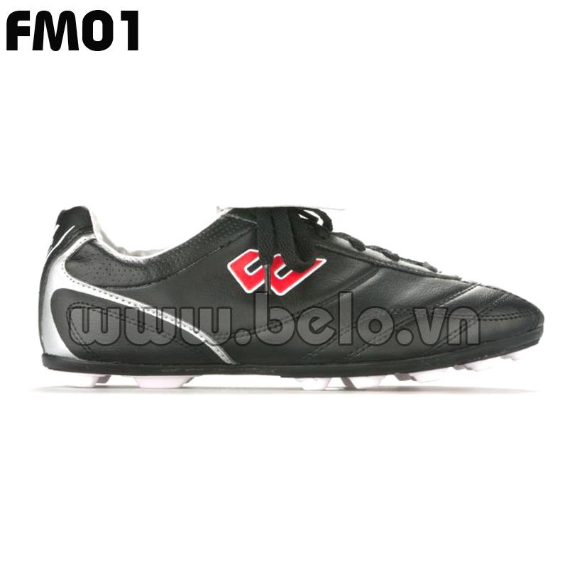 Giày bóng đá Prowin mã FM01 màu đen