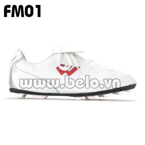Giày bóng đá Prowin mã FM01 màu trắng