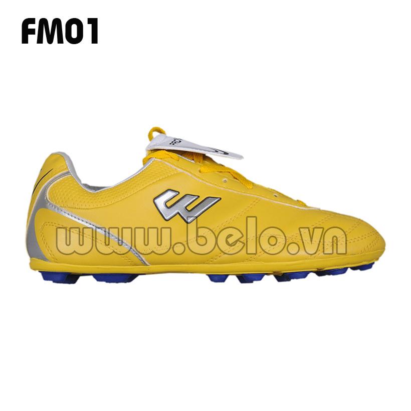 Giày bóng đá Prowin mã FM01 màu vàng