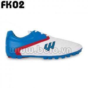 Giày bóng đá Prowin mã FKo2 xanh trắng của trẻ em