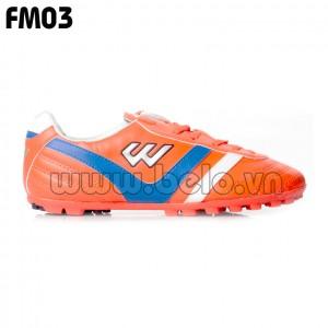 Giày bóng đá Prowin mã FM03 màu cam