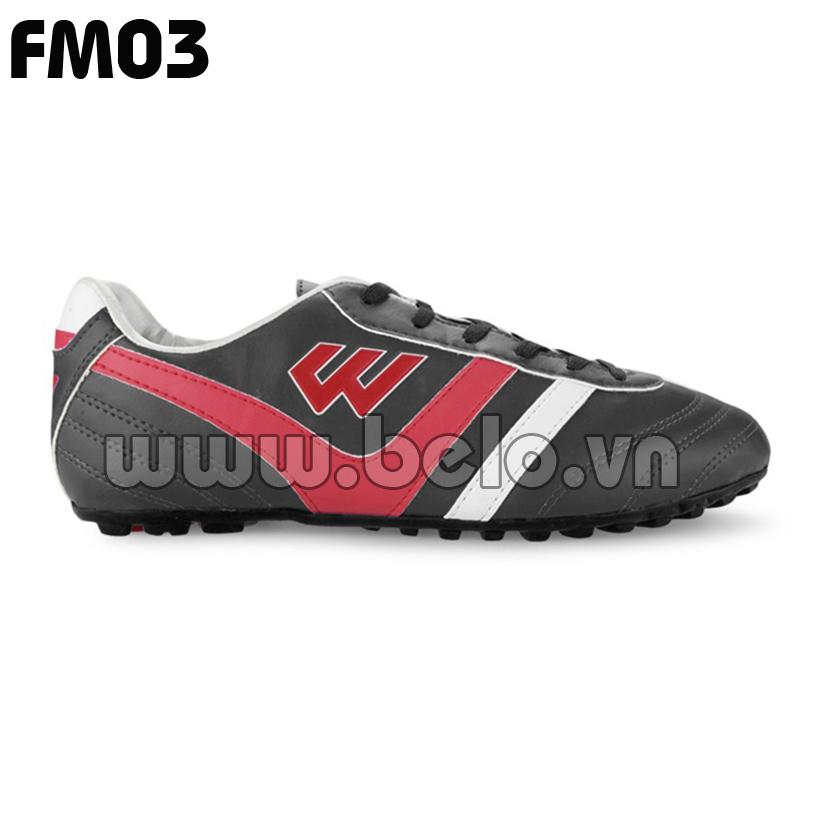 Giày bóng đá Prowin mã FM03 màu đen