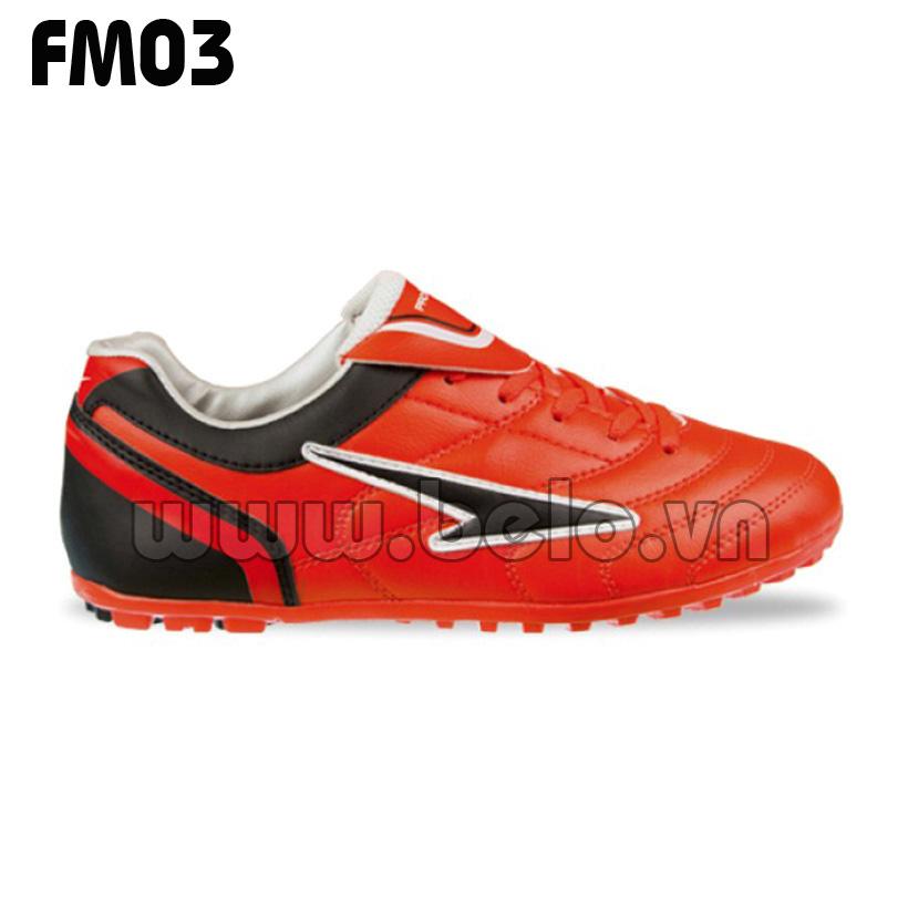 Giày bóng đá Prowin mã FM03 màu đỏ