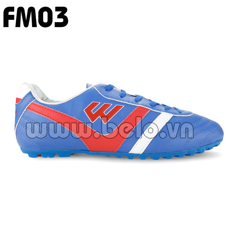 Giày bóng đá Prowin mã FM03 màu xanh dương
