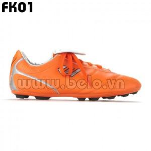 Giày bóng đá Prowin trẻ em mã FK01 màu cam