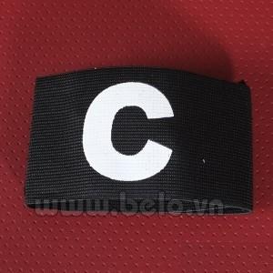 Băng đội trưởng chữ C màu đen giá rẻ