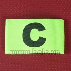Băng đội trưởng chữ C màu xanh chuối giá rẻ