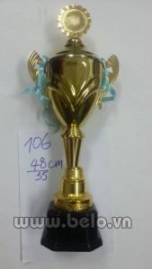 Cúp thể thao mã Belo106 cao 45cm