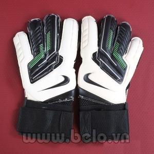 Găng tay thủ môn xịn Nike màu trắng pha đen