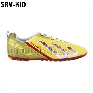 Giày bóng đá Prowin trẻ em mã SRV-KID màu vàng