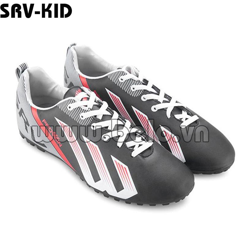Giày bóng đá Prowin trẻ em mã SRV-KID màu đen.