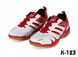 Giày cầu lông Kawasaki K123 đỏ trắng