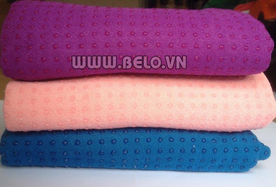 Khăn trải thảm Yoga hạt silicon giá rẻ