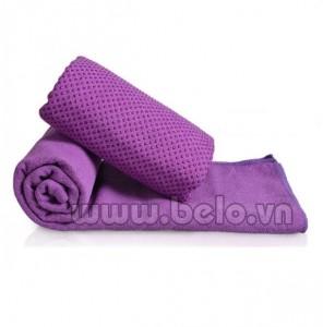 Khăn tập Yogo silicol màu tím