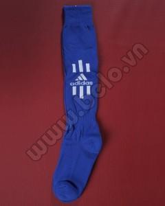 Tất bóng đá Adidas cao cấp màu xanh dương giá rẻ