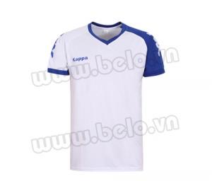 Áo bóng đá không logo Kappa Vip xanh