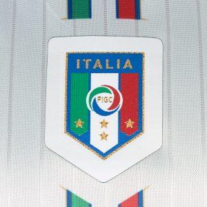 Mẫu áo Ý màu trắng sân khách EURO 2016-2017