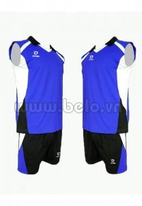 Áo bóng chuyền màu xanh dương mã CSN011