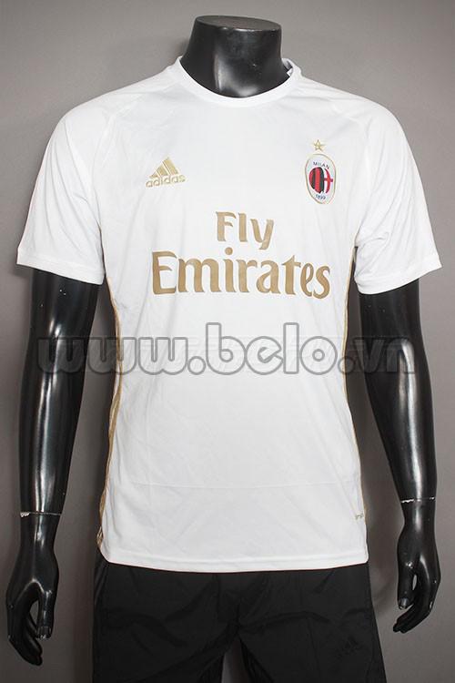 Áo AC Milan trắng mới năm 2016-2017