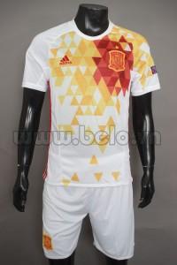 Áo bóng đá đội tuyển Tây Ban Nha trắng