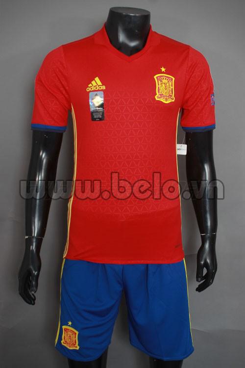 Áo bóng đá đội tuyển Tây Ban Nha năm 2016-2017