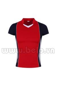 Áo bóng chuyền nữ màu đỏ mã MG04