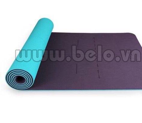 Thảm tập Yoga Hatha chính hãng cao cấp màu nâu
