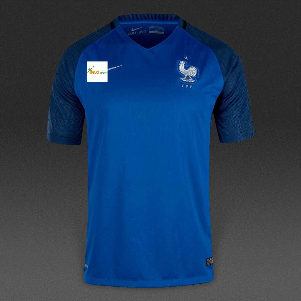 Áo đội tuyển Pháp xanh sân nhà 2016-2017