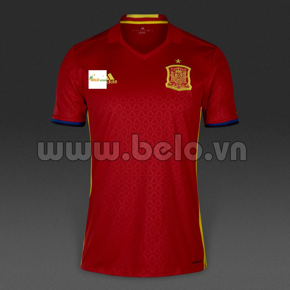 Áo bóng đá đội tuyển Tây Ban Nha rẻ đẹp 2016.