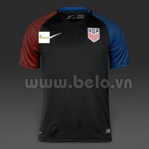 Áo bóng đá Đội tuyển Mỹ màu đen tại copa america 2016.