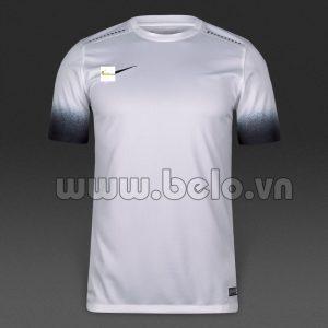 Áo bóng đá không logo cao cấp màu trắng N4 2016-2017