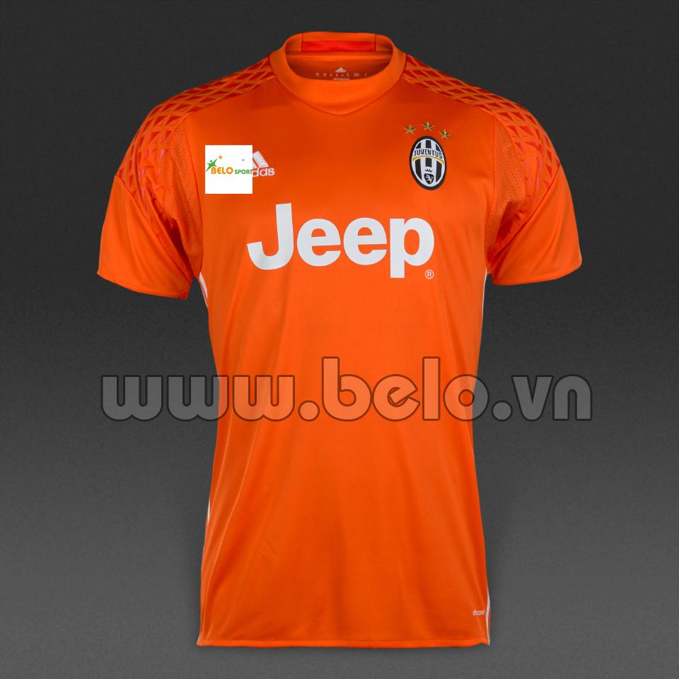 Áo Juventus sân khách màu cam cao cấp 2016-2017