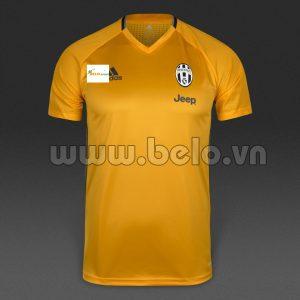 Áo Juventus màu vàng sân khách 2016-2017
