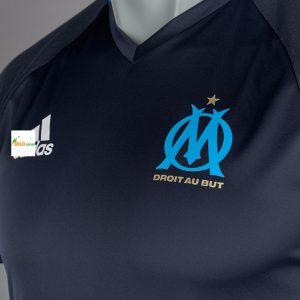 Áo bóng đá Olympic Marseille màu đen 2016-2017