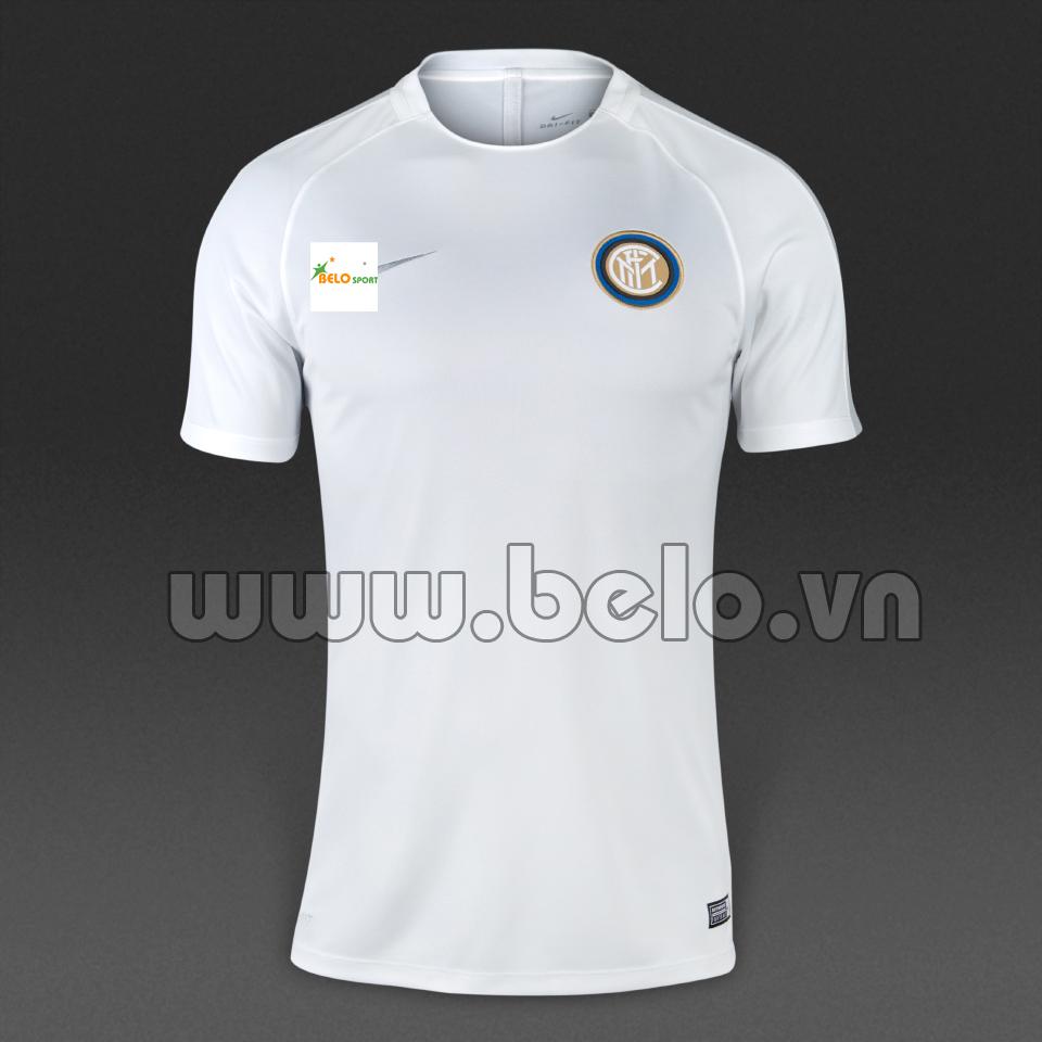 Áo Inter Milan sân khách màu trắng giá rẻ 2016-2017.