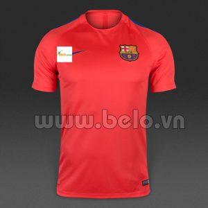 Mẫu áo Barca màu hồng 2016-2017 tại Hà Nội