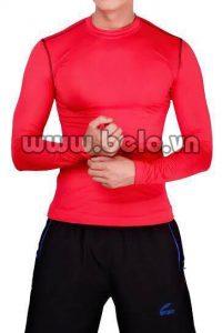 Áo lót body thể thao cao cấp màu đỏ AL001