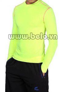 Áo lót body thể thao cao cấp màu vàng AL006