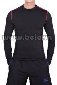 Áo lót body thể thao cao cấp màu đen  AL008