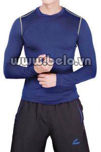 Áo lót body thể thao cao cấp màu xanh  AL0012