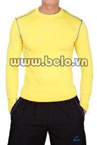 Áo lót body thể thao cao cấp màu vàng AL0013