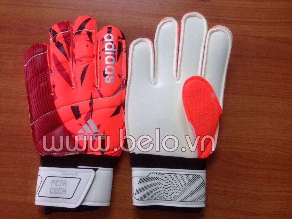 Găng tay thủ môn xịn Adidas Petr Cech Training cam đỏ