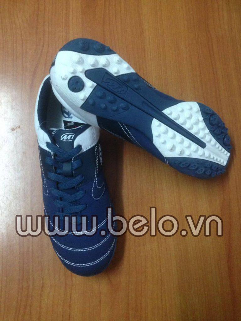 Giày bóng đá sân cỏ nhân tạo MT tím than trắng