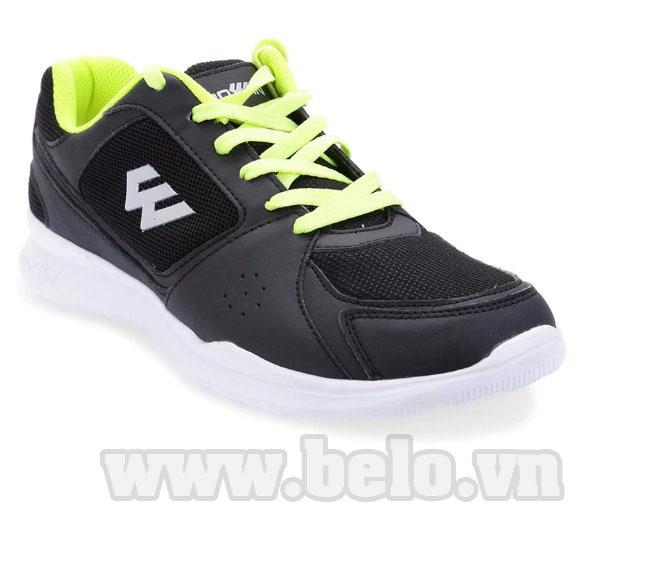 Giày chạy bộ Việt Nam Prowin nam r02 đen đế trắng
