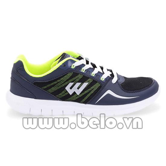 Giày chạy bộ Prowin nam Running 11 xanh tím than