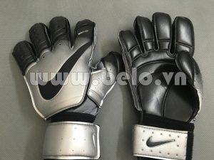 Găng tay thủ môn cao cấp Nike Bioalign xám đen giá rẻ