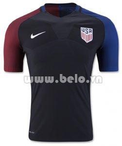 áo đội tuyển Mỹ màu xanh đen sân nhà 2016-2017