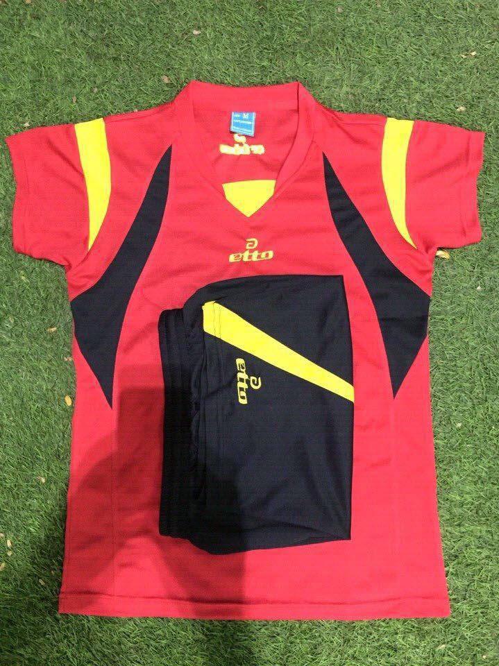 Áo bóng chuyền OTTO nam màu đỏ OTTO 02