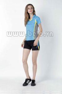 Áo bóng chuyền nữ xanh ngọc PN 01