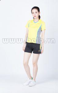 Áo bóng chuyền nữ màu vàng PN06